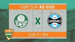 ÍNTEGRA! PALMEIRAS 3 X 0 GRÊMIO - FAM CUP SUB-17