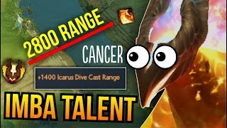 IMBA TALENT - WTF 2800 Dive Cast Range Phoenix 7.07 | Dota 2
