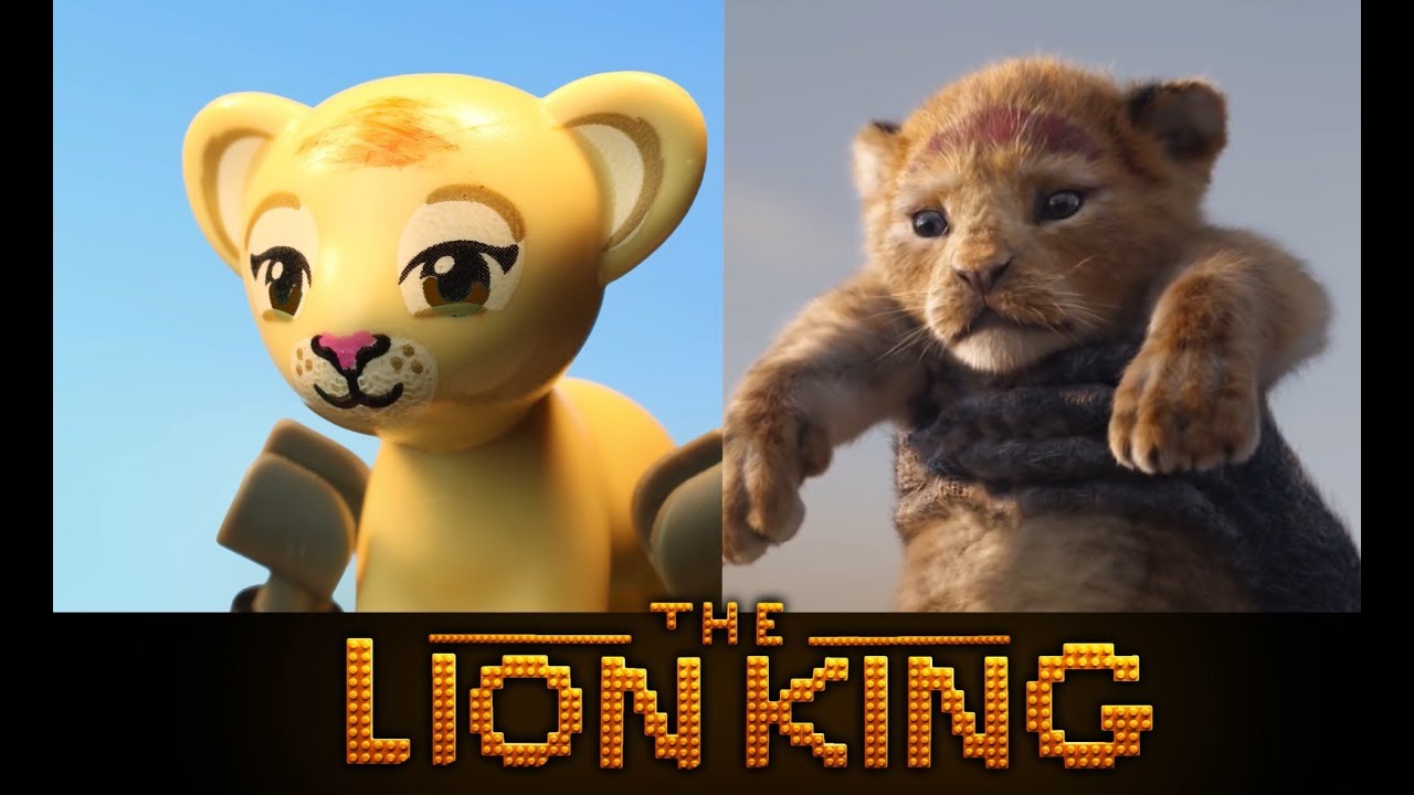 LEGO The Lion King 2019 - Official Teaser Trailer - Side by Side version!