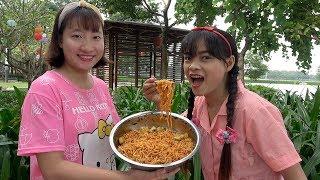 Trò Chơi Ăn Mì Siêu Cay ❤ BIBI TV ❤
