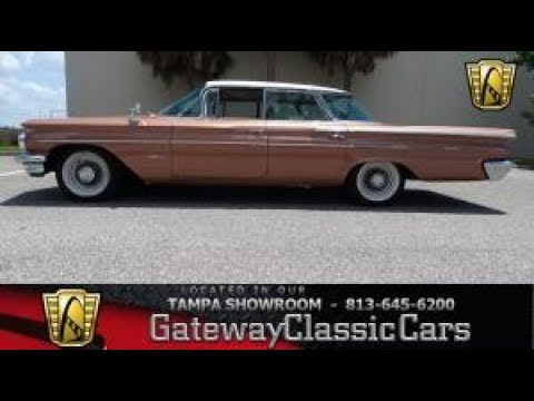 1960 Pontiac Bonneville Gateway Classic Cars Tampa #1174