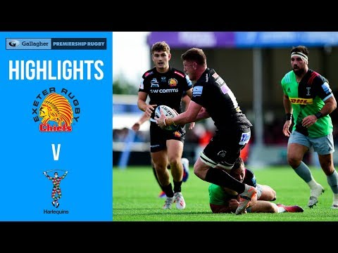 Gallagher Premiership Highlights - Exeter Chiefs v Harlequins round 1