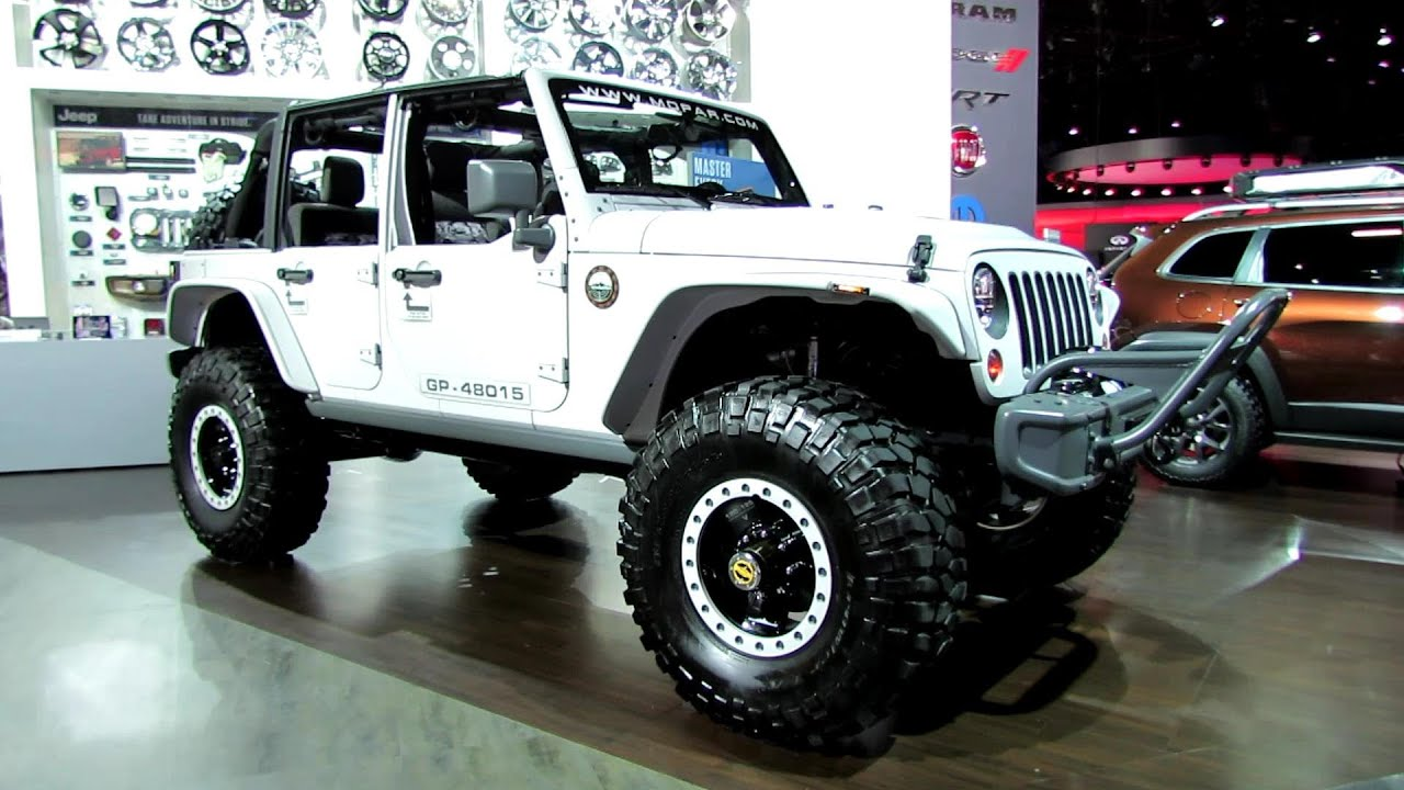 2014 Jeep Wrangler Recon Mopar Customized Exterior