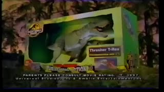The Lost World: Jurassic Park Thrasher T-Rex Toy Commercial (1997)