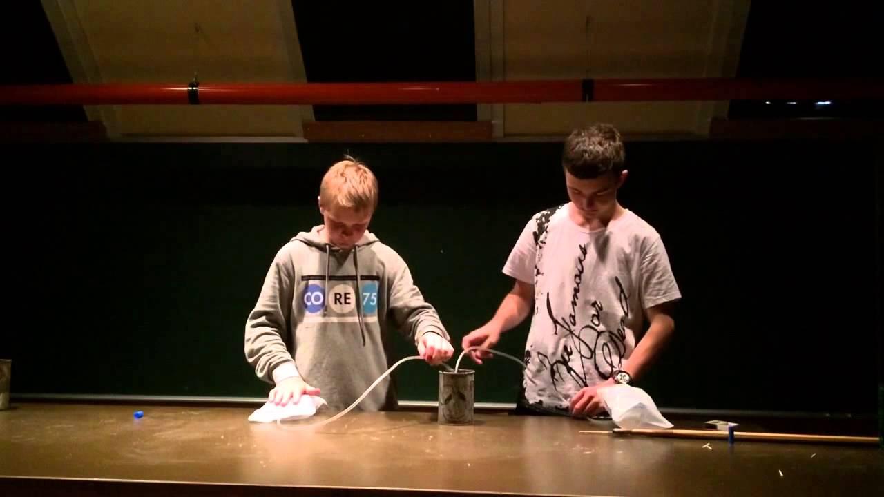 Knaldgas Testoteket Hvide Sande Skole