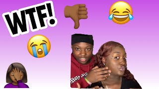 WORST MAKEUP!! MY SISTER DOES MY MAKEUP CHALLENGE!🤦🏾♀️ *MUST WATCH 😂😂