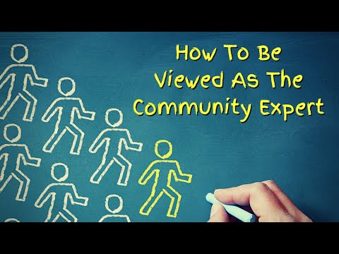 how-to-be-seen-as-the-community-expert