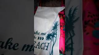 """Обзор пляжной сумки """" Аруба"""" от компании Орифлейм"""