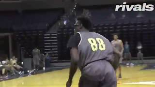 Maryland commit Five-Star Jalen Smith Highlights from NBPA Top 100 Camp