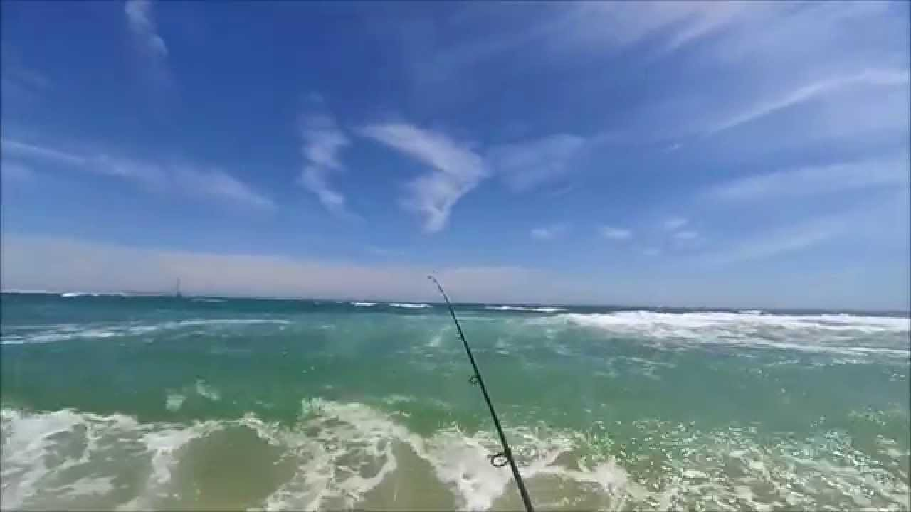 Shore fishing in puerto pe asco youtube for Puerto penasco fishing