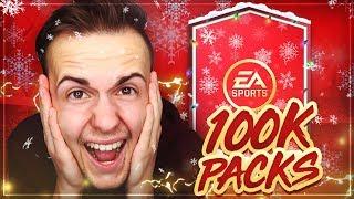 FIFA 18: 100k Packs PACK OPENING 😂 OMG ... 😱