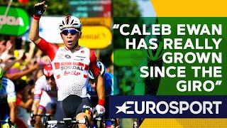 Bradley Wiggins on the Incredible Rise of Caleb Ewan   The Bradley Wiggins Show   Eurosport