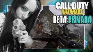 COD WWII: JUGANDO BETA en DIRECTO - Call Of Duty WWII PS4