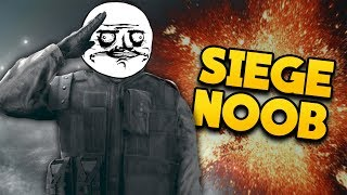 PLAYING RANKED WITH A NOOB IN RAINBOW SIX SIEGE (Funny Moments)