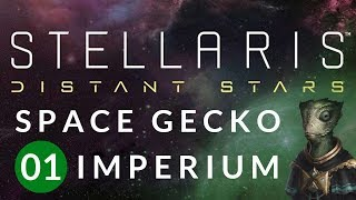 DO YOU WANNA BE A SPACE FRIEND?! Stellaris: Distant Stars Gameplay w/ GamingFTL #1
