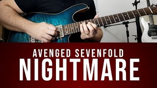 Avenged Sevenfold Nightmare Solo Cover by Cacá Barros