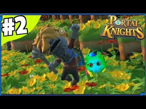 Portal Knights - Rainbow World | Part 2 | Portal Knights Gameplay / Portal Knights Let's Play