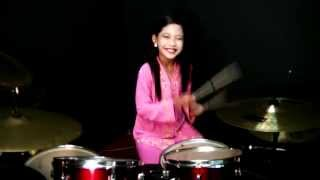 Jeffrydin - Mas Mona - Drum Cover by Nur Amira Syahira