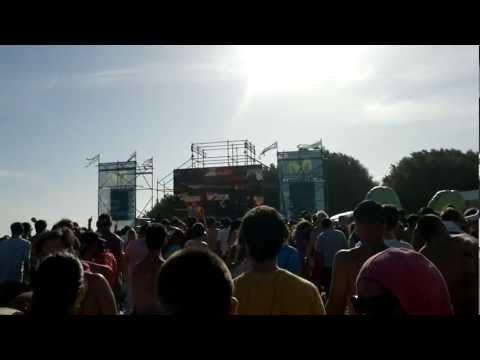 Audio Bullys, Arena Beach, Rock and Pop, Mar del Plata, Buenos Aires, Argentina, 7-01-2012
