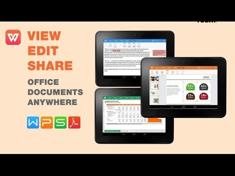 MS Office Alternative-WPS OFFICE FOR ANDROID, iphone, windows