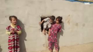 النزوح من الموصل رحلة عذاب للأطفال