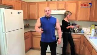 Hardcorowy koksu na zakupach i w kuchni ( Robert Burneika) 2017 Video