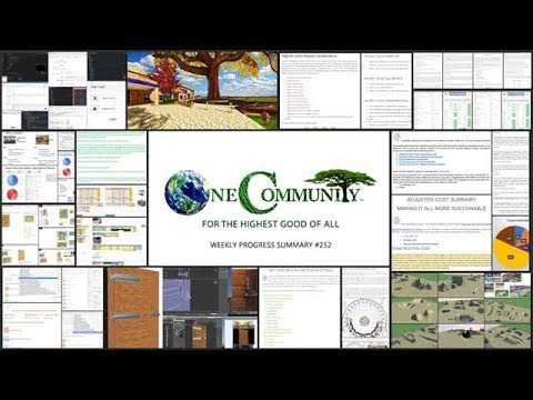 Eco-Communities Creating a Global Sustainability Cooperative - One Community Progress Update #252