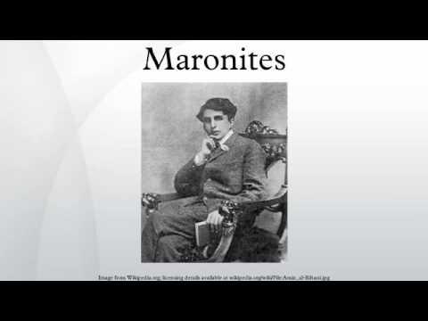 Maronites