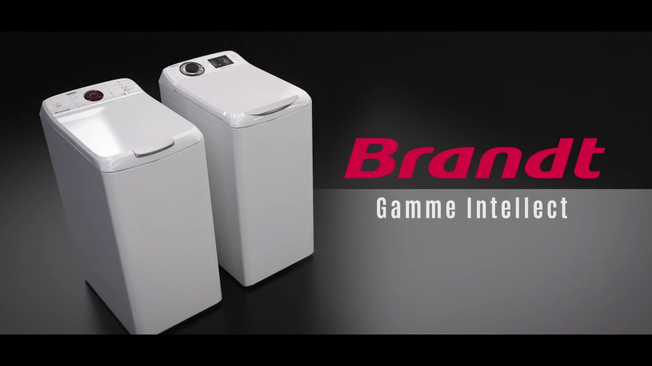L efficacit des lave linge top intellect brandt youtube - Lave linge top brandt ...