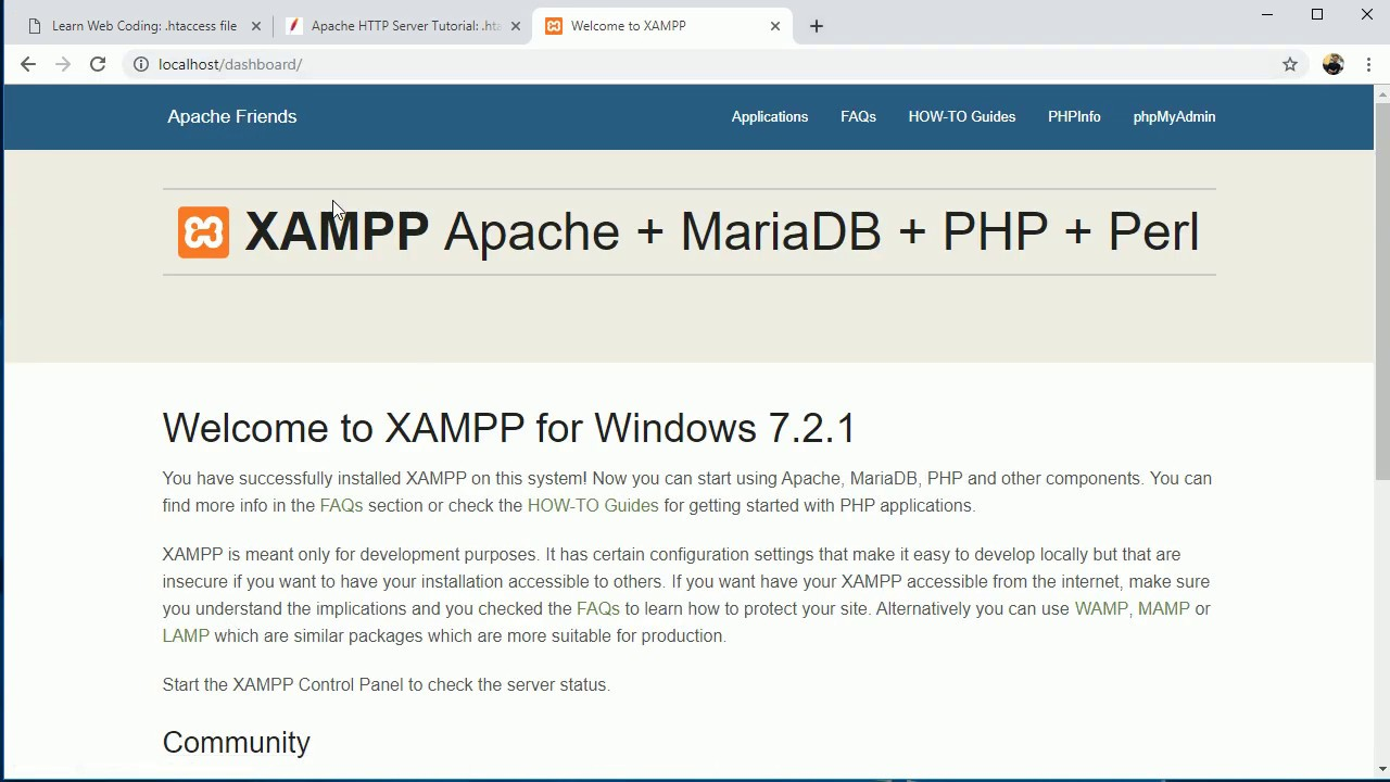 .htaccess file Redirection, Authentication, Remove .php ...