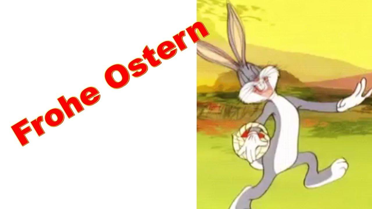 Ostern Lustig Frohe Ostern Bunte Ostereier Vom Osterhase Schöne