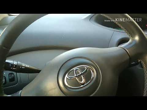 Toyota Yaris решение проблемы Airbag B0116 с помощью  Obd2