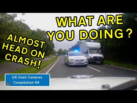 UK Dash Cameras - Compilation 44 - 2019 Bad Drivers, Crashes + Close Calls