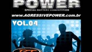 cd agressive power - querência amada