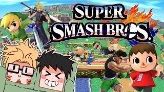 Squares Square Off: Super Smash Bros Wii U