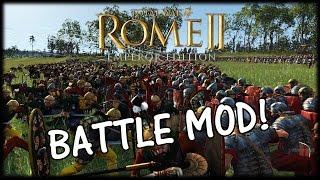 VERCINGETORIX v CAESAR! Total War Rome 2 Battle Mod!