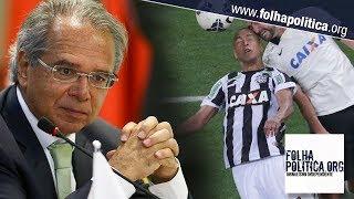 Caixa pode fazer coisas melhores do que patrocinar futebol, diz Paulo Guedes