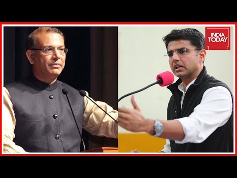 Exclusive Demonetisation Debate : Sachin Pilot Vs Jayant Sinha   News Today