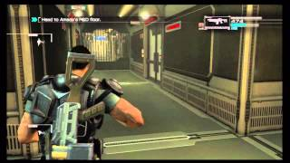 Binary Domain - Chap 5 Intelligent Artifice: Gunbot Battle, Dan, Faye, Rust Crew Gameplay Xbox 360