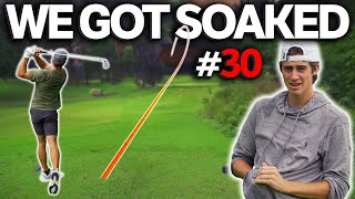 Golfing In The Pouring Rain | Sunday Match #30