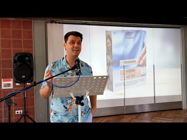 Mission 5 - Wie hat es Petrus gemacht - Gemeinde Jesu bauen vor Ort in Mutterstadt + Umgebung