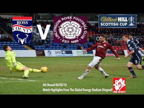 William Hill Scottish Cup 5th Round Ross County Vs Linlithgow Rose