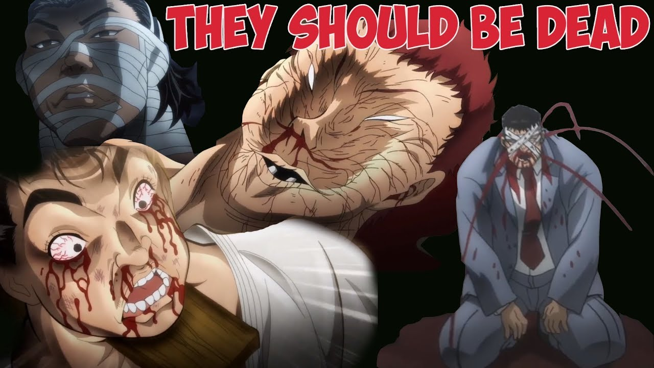 Baki characters that should have been dead but survived