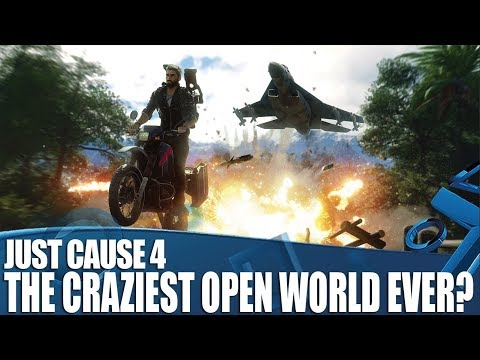Just Cause 4 - The Craziest Open World Ever?
