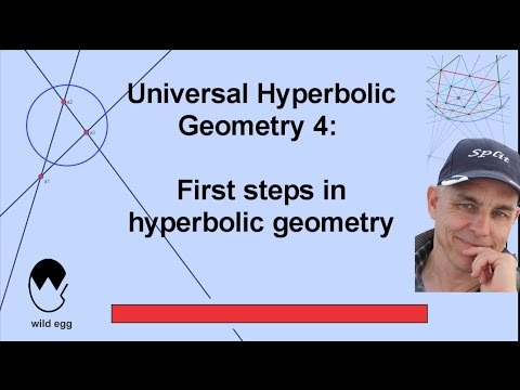 First steps in hyperbolic geometry | Universal Hyperbolic Geometry 4