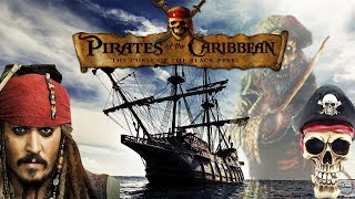 Exploring an abandoned Pirate ship by swimming through SHARK WATERS to get there challenge!!