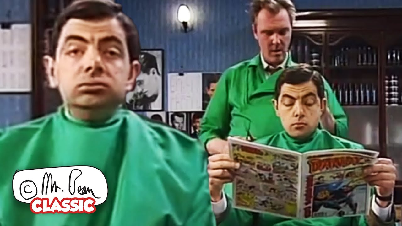 Bean's NEW LOOK for XMAS! | Mr Bean Funny Clips | Classic Mr Bea