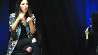Shoshannah explaining how she would have killed her character off SPN NJ CON 2017