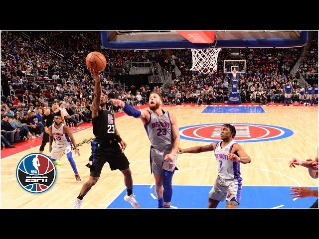 Lou Williams leads Clippers in a 111-101 victory over the Pistons l NBA Highlights