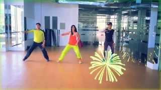 "Zumba® Shakira "" La La La Dare Brasil"" by Honduras Dance Crew"
